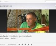Zé do Pedal é destaque no Globo Esporte RR